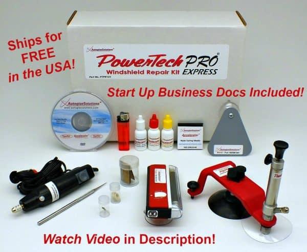 Windshield Repair Kit >> Powertechpro Express Windshield Repair Kit
