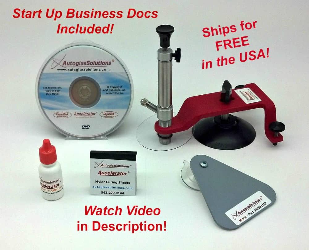 Rock Chip Repair >> PowerTech MiniKit Windshield Repair Kit – Autoglass Tools Online